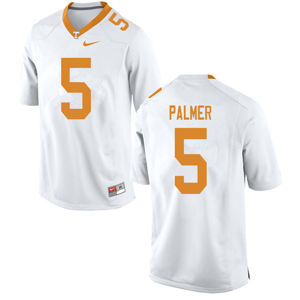 Men #5 Josh Palmer Tennessee Volunteers College Football Jerseys Sale-White