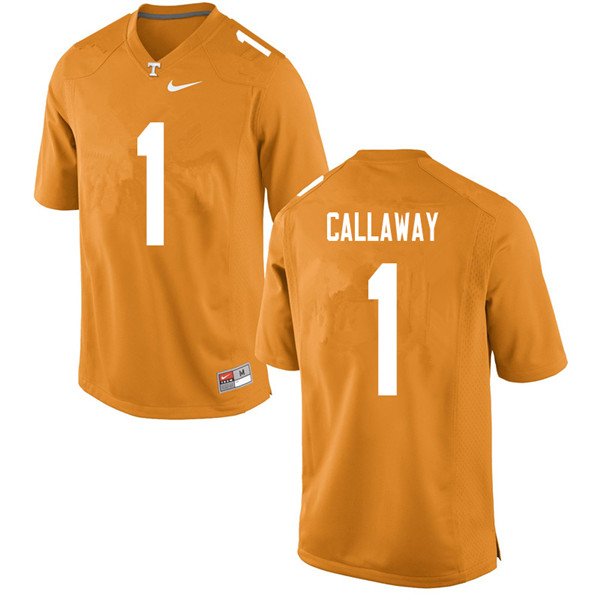 Men #1 Marquez Callaway Tennessee Volunteers College Football Jerseys Sale-Orange