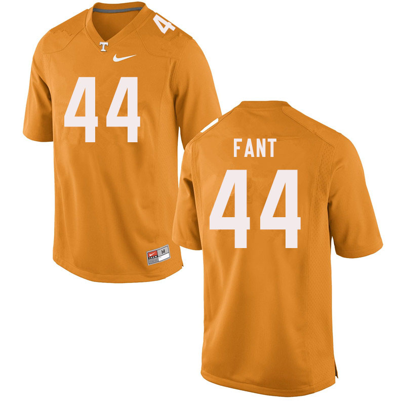 Men #44 Princeton Fant Tennessee Volunteers College Football Jerseys Sale-Orange