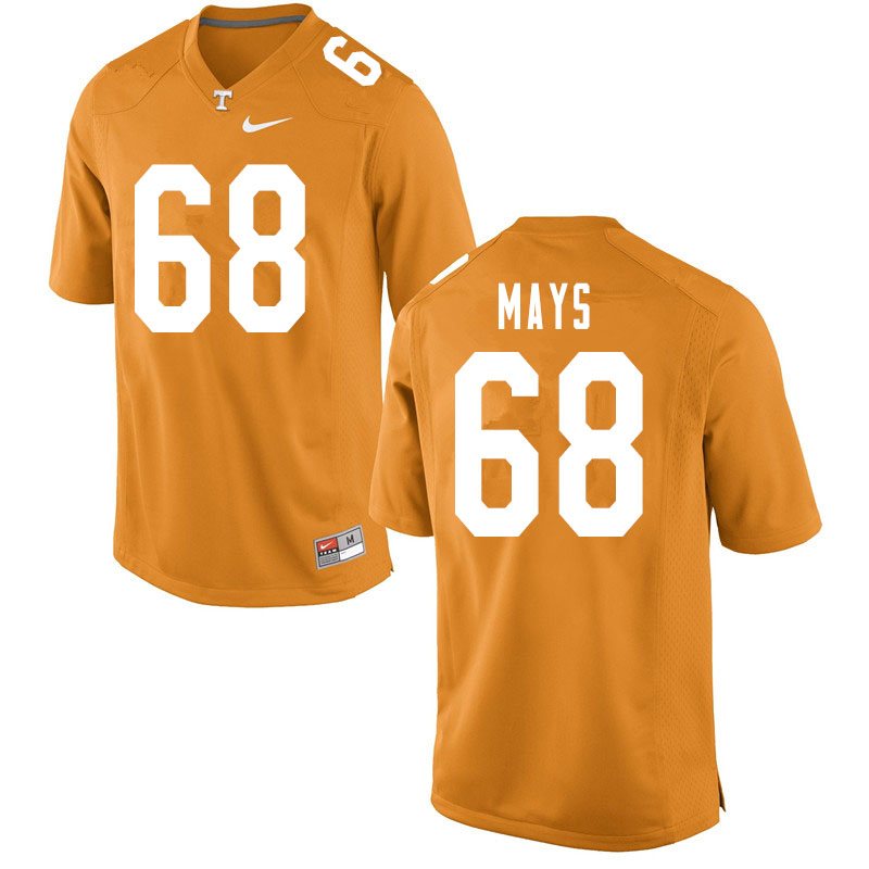 Men #68 Cade Mays Tennessee Volunteers College Football Jerseys Sale-Orange