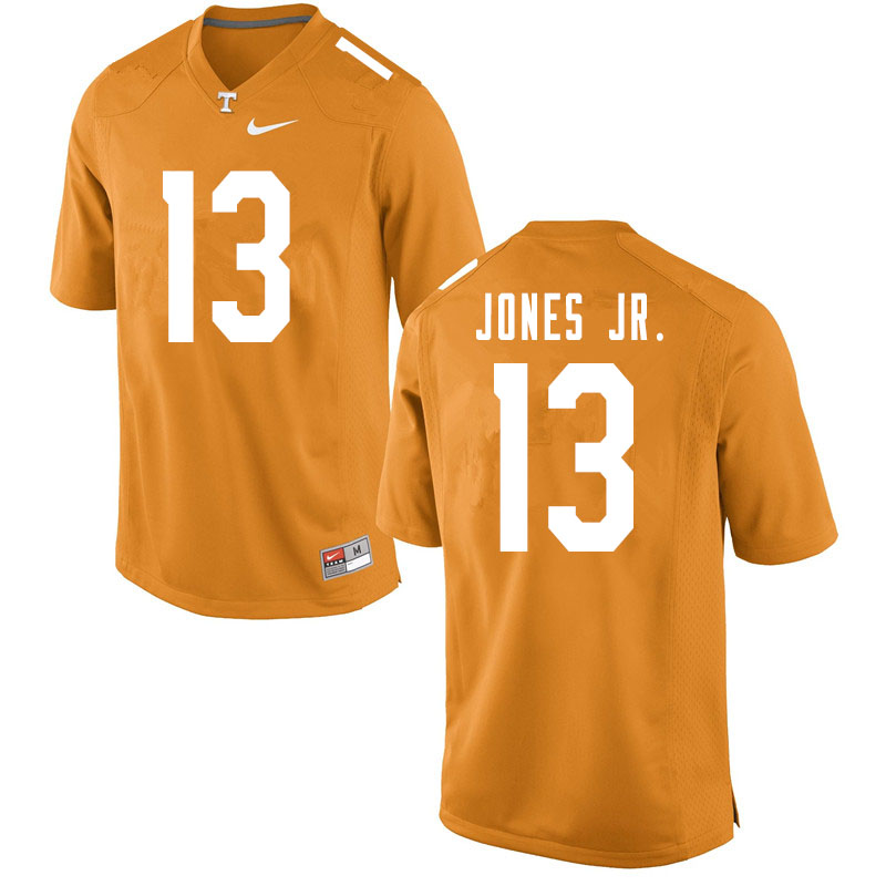 Men #13 Velus Jones Jr. Tennessee Volunteers College Football Jerseys Sale-Orange
