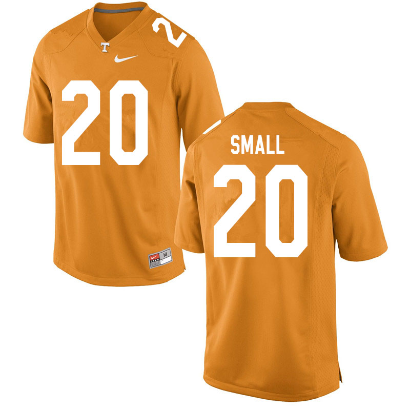 Men #20 Jabari Small Tennessee Volunteers College Football Jerseys Sale-Orange