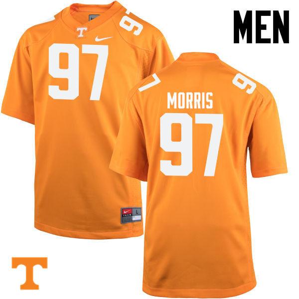 Men #97 Jackson Morris Tennessee Volunteers College Football Jerseys-Orange
