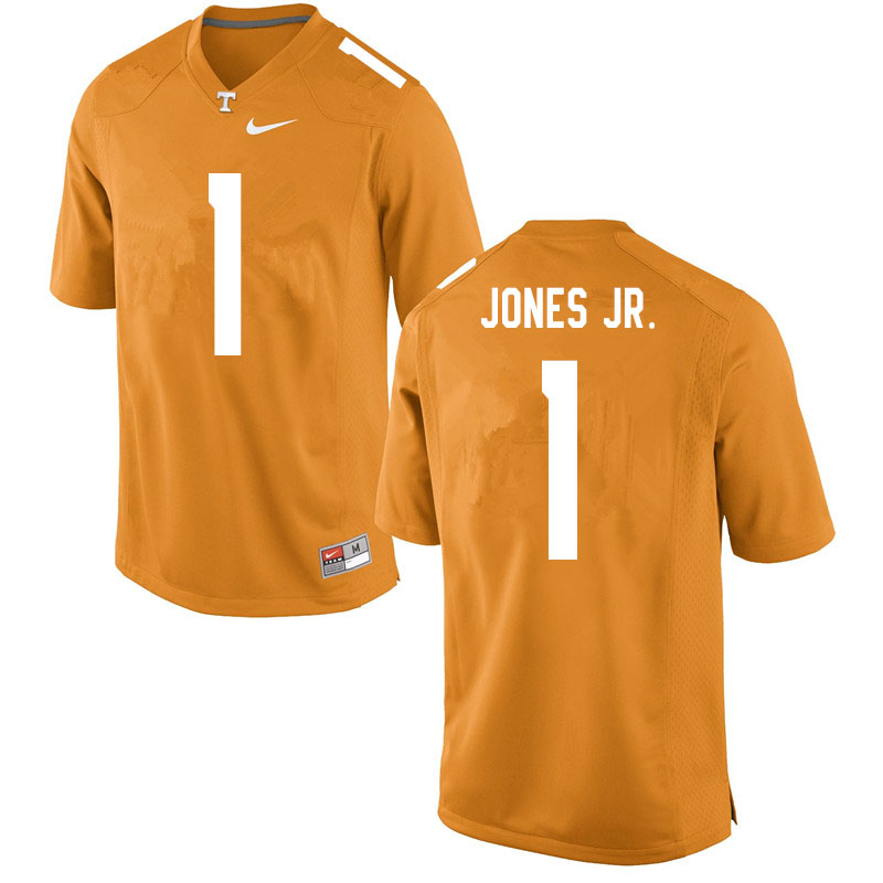 Men #1 Velus Jones Jr. Tennessee Volunteers College Football Jerseys Sale-Orange