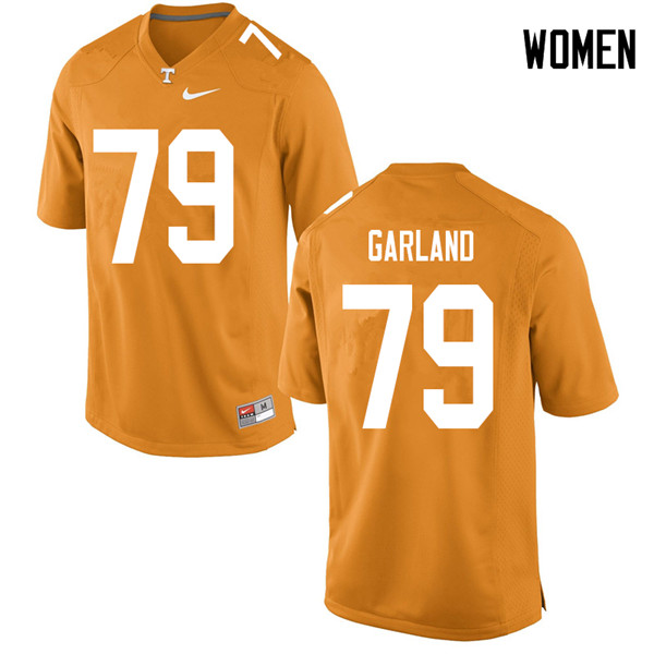 Women #79 Kurott Garland Tennessee Volunteers College Football Jerseys Sale-Orange