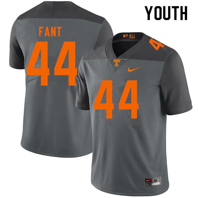 Youth #44 Princeton Fant Tennessee Volunteers College Football Jerseys Sale-Gray